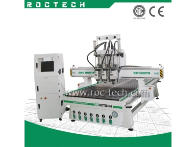 3 AXIS THREE HEAD CNC ROUTER RC1325TS